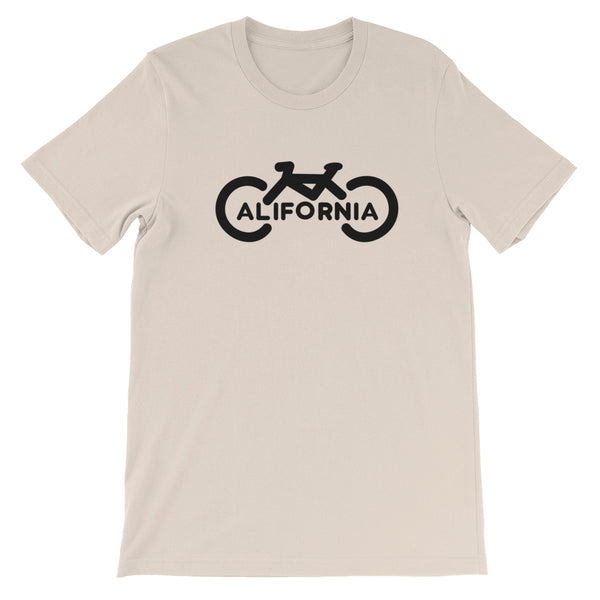 Bike California Short-Sleeve Unisex T-Shirt