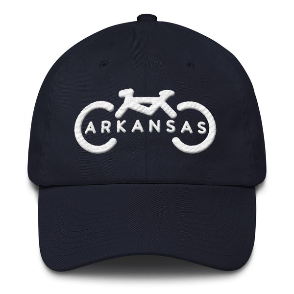 Bike Arkansas Dad Hat