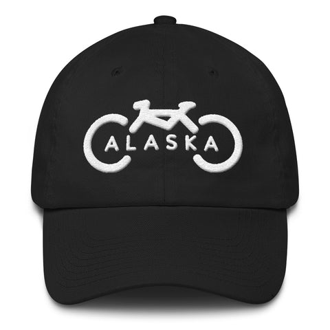 Bike Alaska Dad Hat