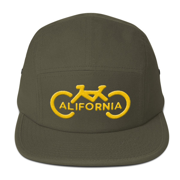 3D Bike California Five Panel Cap
