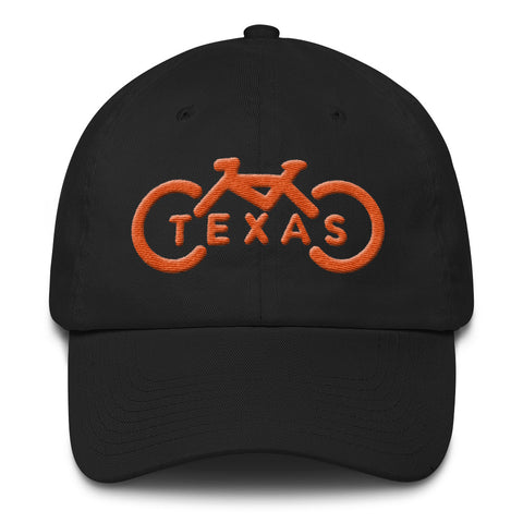 3D Bike Texas Dad Hat