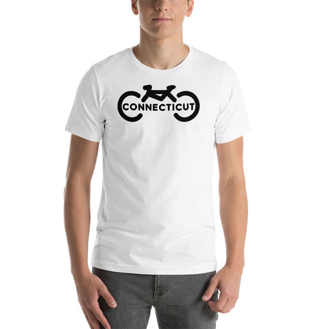 Bike Connecticut Short-Sleeve Unisex T-Shirt