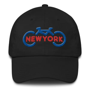 3D Bike New York Dad Hat