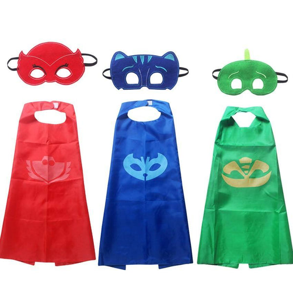 Character capes and masks