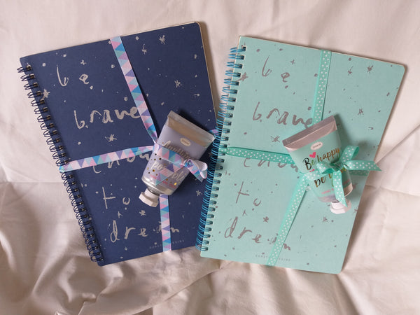 Inspire Notebook & Hand Cream