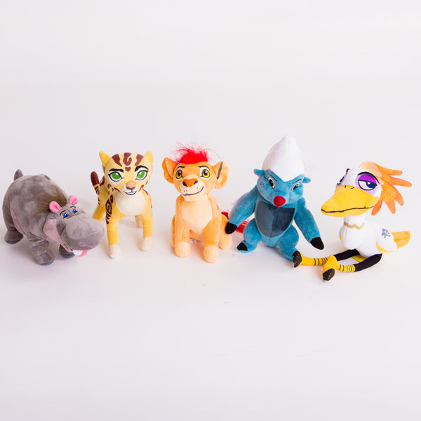 Lion guard five piece plush set