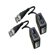 CAT5 HD Video Balun with Lead - Pack of 2 - CCTV Suppliers UK