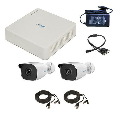 HiLook CCTV System - 4 Channel DVR with 2 x B220 Cameras & 1TB HDD