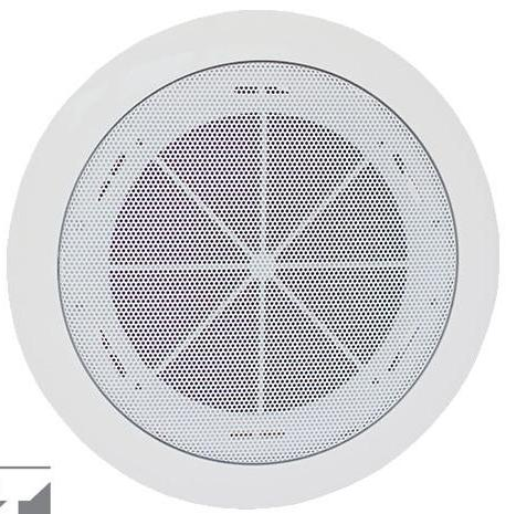 TOA PC-1868W-EB 6Watt Ceiling Speaker