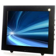 "Vigilant Vision 10.4"" LED Monitor Metal Case with Glass Front"