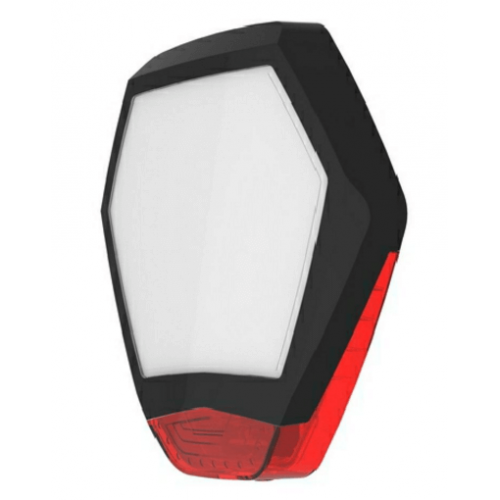Texecom Odyssey X3 Bell Cover Black & Red WDB-0005