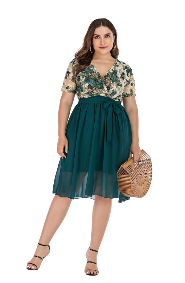 2020 Spring Plus Size Party Tulle Dresses 5XL dress