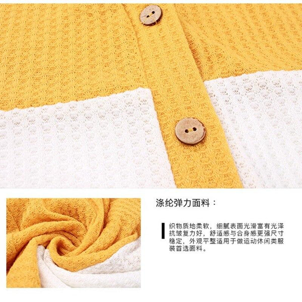Autumn V-neck Loose Button Sweater Sweaters