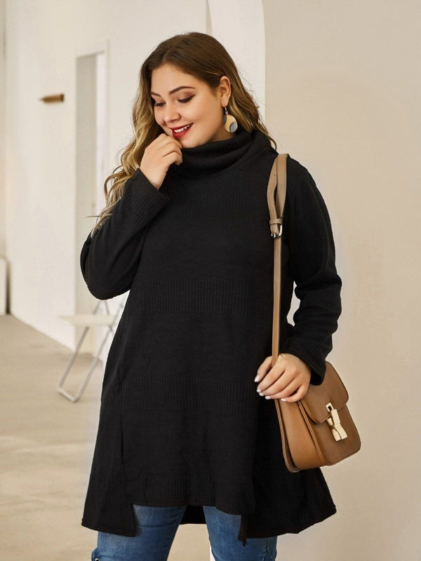 Autumn Winter plus size pullover for women sweaters
