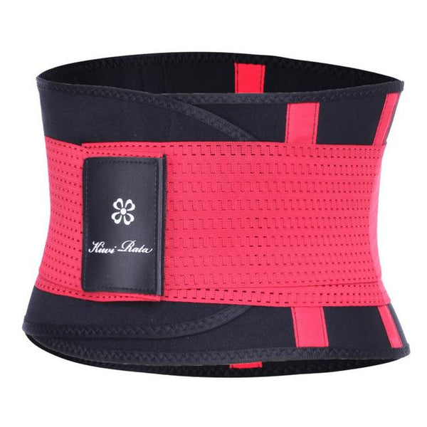 Body Shape Waist Trainer Fitness Corset corsets Red L