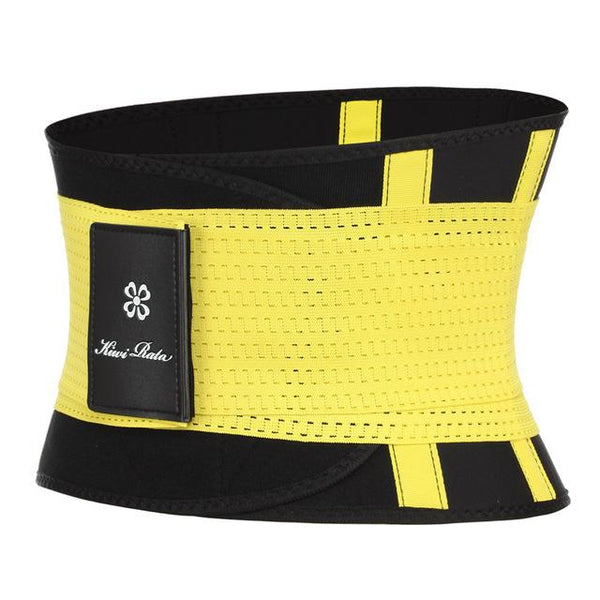 Body Shape Waist Trainer Fitness Corset corsets Yellow XXL