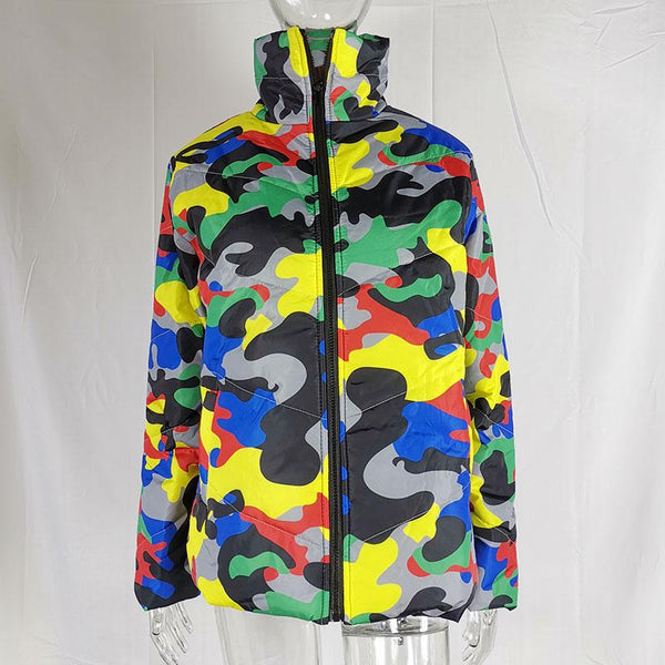 Camouflage Winter Jackets for Women jackets