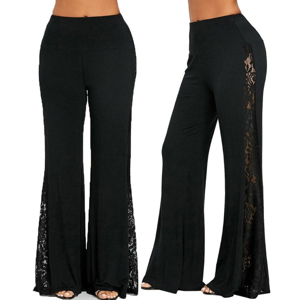 Casual Plus Size Loose Wide Leg Pants pants