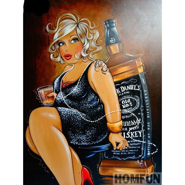 Diamond Plus Size Cartoon Painting art