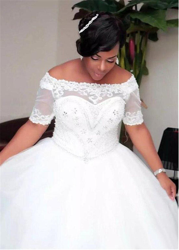 Fabulous Tulle Ball Gown Wedding Dress wedding