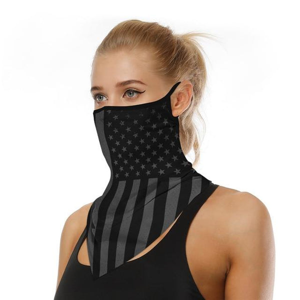 Fashion Face Scarf Bandana accessories C United States