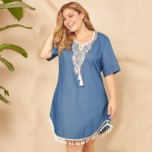 Fashion Summer Long Sleeve Dress dress