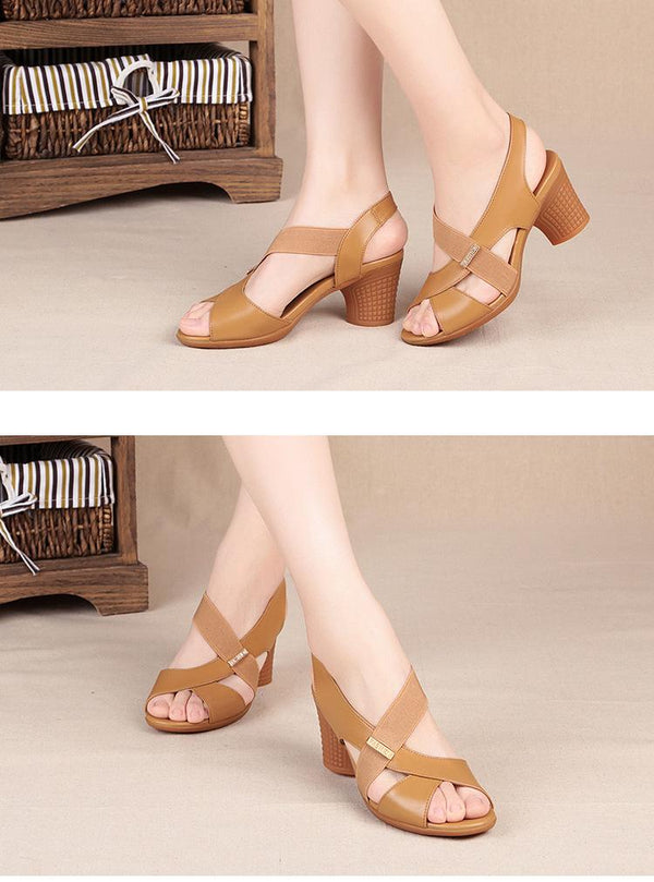 Fashion Women Mid Heel Shoes shoes