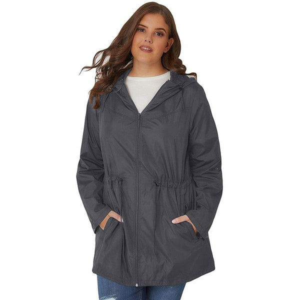 Hooded Outwear Autumn Lightweight Coat Coats