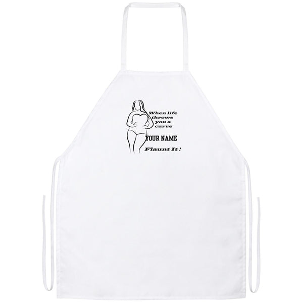 Plus Size Curvy Women's Apron
