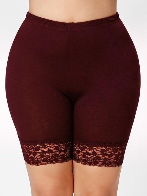 Lace Elastic Casual Leggings