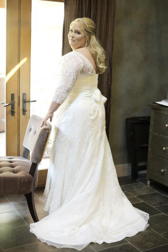 Lace Mermaid Wedding Gown With Sleeves wedding