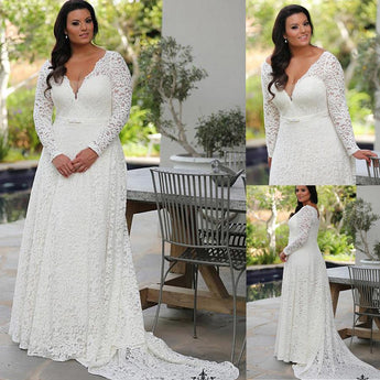 Lace Sleeves Wedding Dress wedding dress