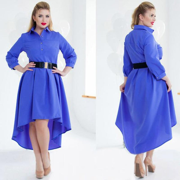 Long Sleeve Elegant Loose Dress dress
