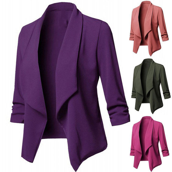 Long Sleeve Formal Office Cardigan jacket