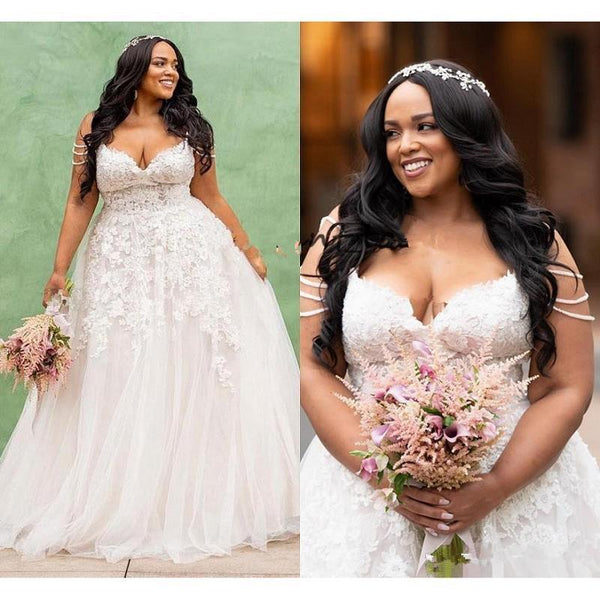 Modest African Bridal Gowns For Black Women wedding