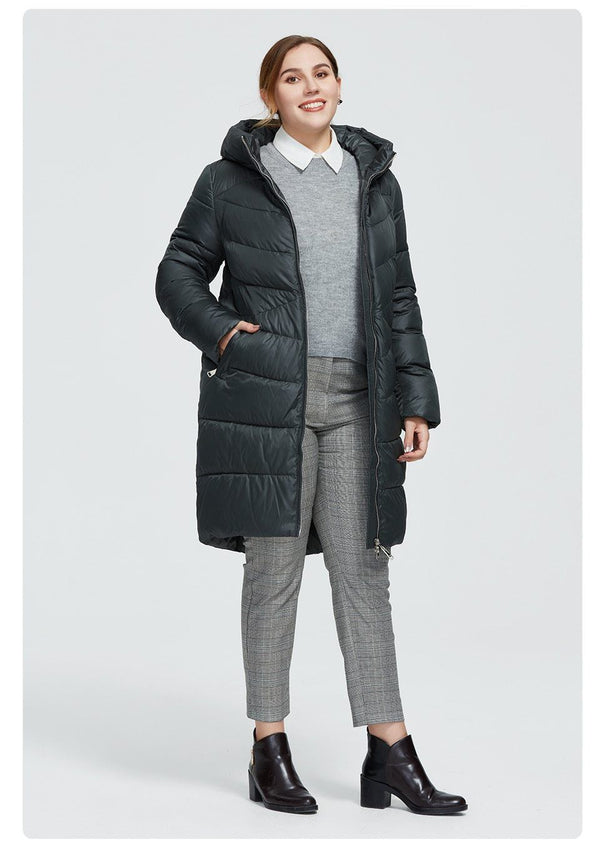 New Women's Winter Long Coat Coats & Jackets