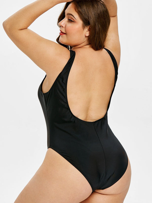 One Piece Sexy Casual Bathing Suit Swimsuit