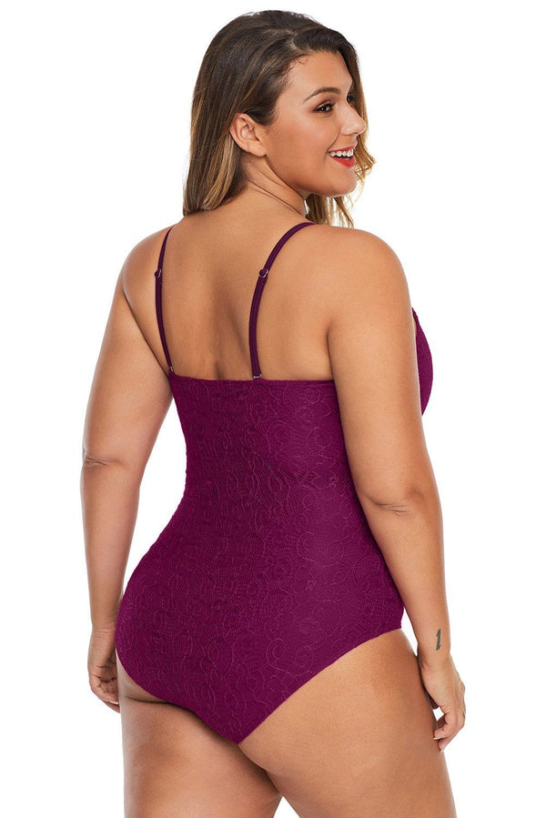 One Piece Tummy Control Swimsuit swimwear