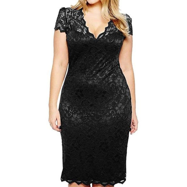 Party Night Sexy Dress in Colors dress Black L
