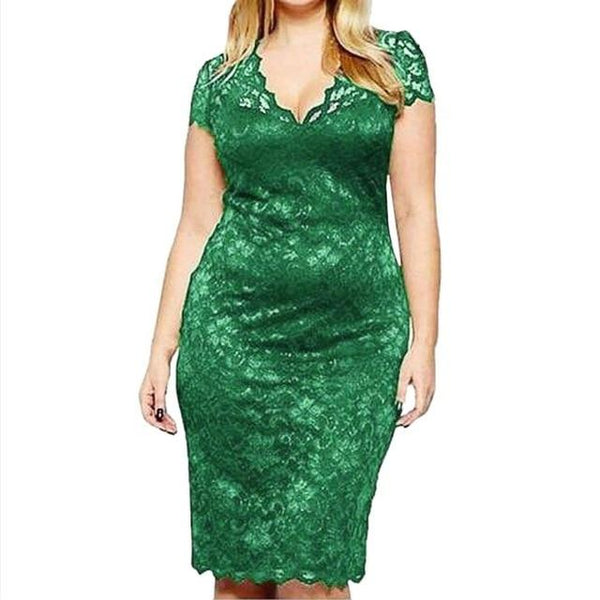 Party Night Sexy Dress in Colors dress Green L
