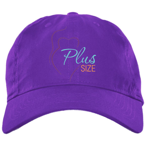 Plus Size Brushed Twill Caps in Colors