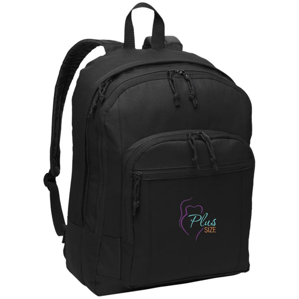 Plus Size Embroidered Basic Backpack in Colors