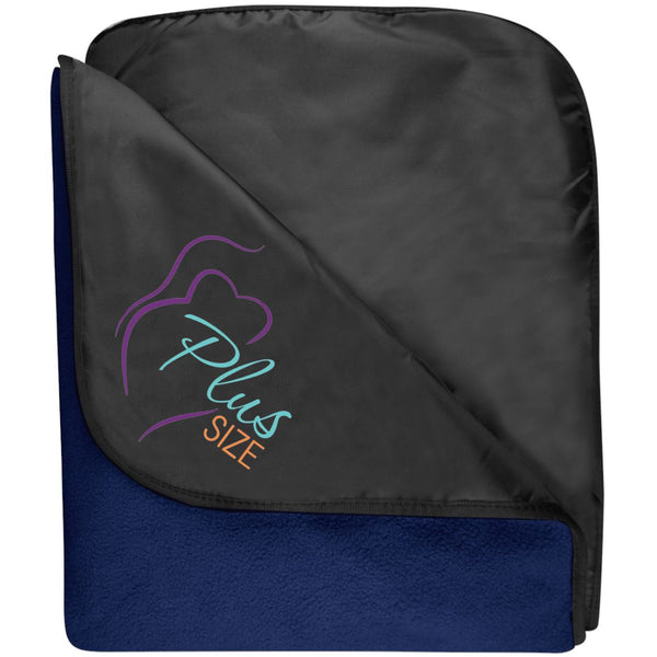 Plus Size Fleece & Poly Travel Blanket