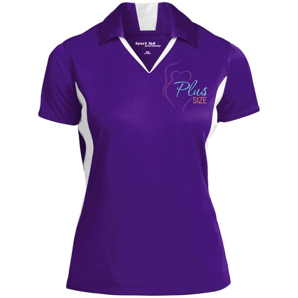 Plus Size Ladies' Color Performance Polo