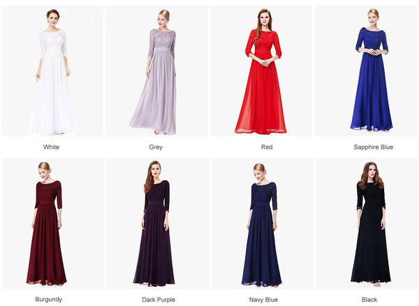 Plus Size Mother Of The Bride Dress Chiffon in Colors