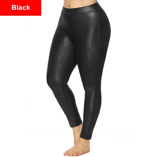 Slim Fitness Casual Pants pants Black XL