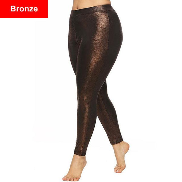 Slim Fitness Casual Pants pants Bronze XL