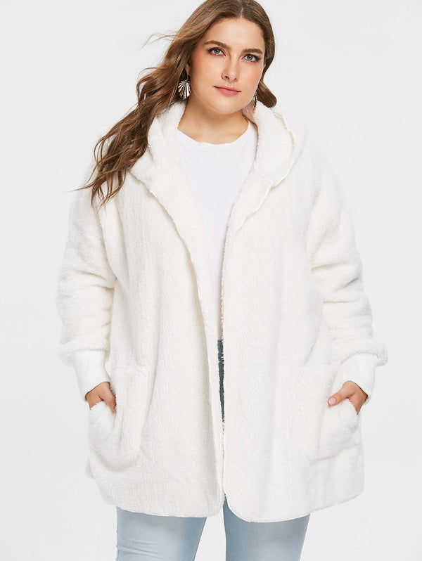 Soft Faux Fur Casual Loose Coat Coats