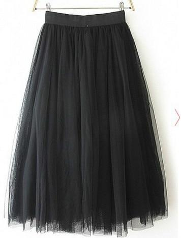 Tulle Skirt Pleated TUTU Skirts 5XL skirts
