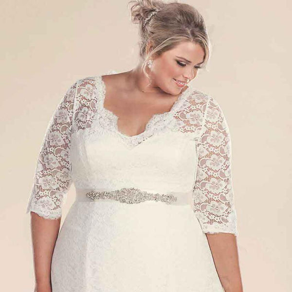 Wedding Dress Lace Sash Bridal Gown wedding dress